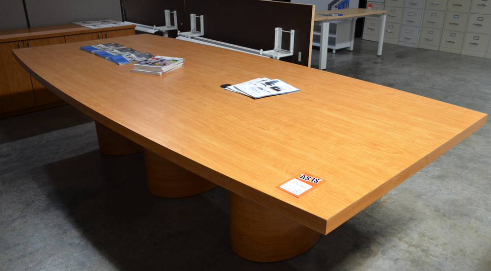 Copy of Conference table & Credenza pre owned ($750.00)