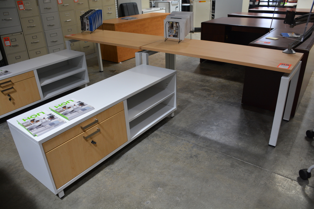 Copy of KI Modular  5'x7' L desk Used ($300.00)