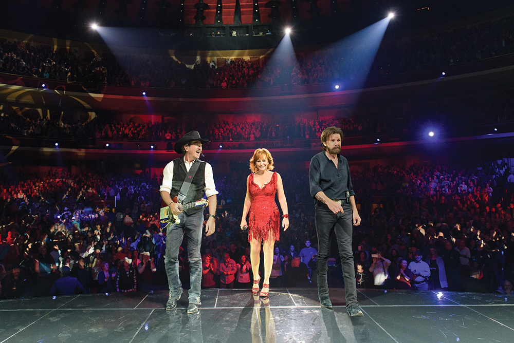 The country music legends have been performing for sold-out crowds at The Colosseum since kicking off their Caesars Palace residency in 2015. Photo courtesy of Caesars Entertainment.