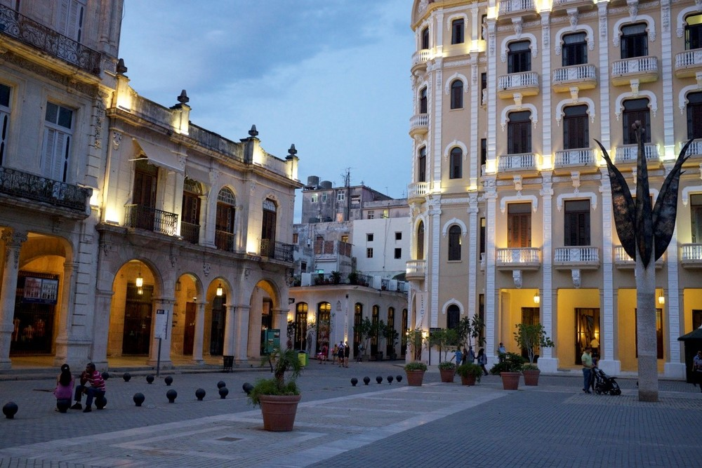 Old Square of Havana, Cuba