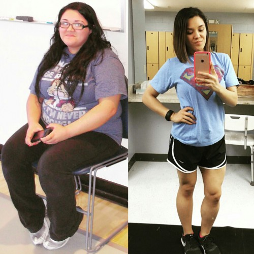 Meagan's 110-lb. transformation will inspire you