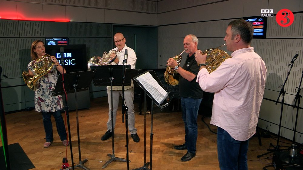 BBC Radio 3  In Tune Sessions - Berlin Philharmonic Horns