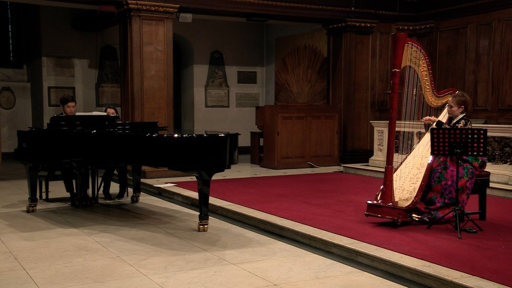 Hae Joo Hahn  - Harp Recital at St James, Piccadilly