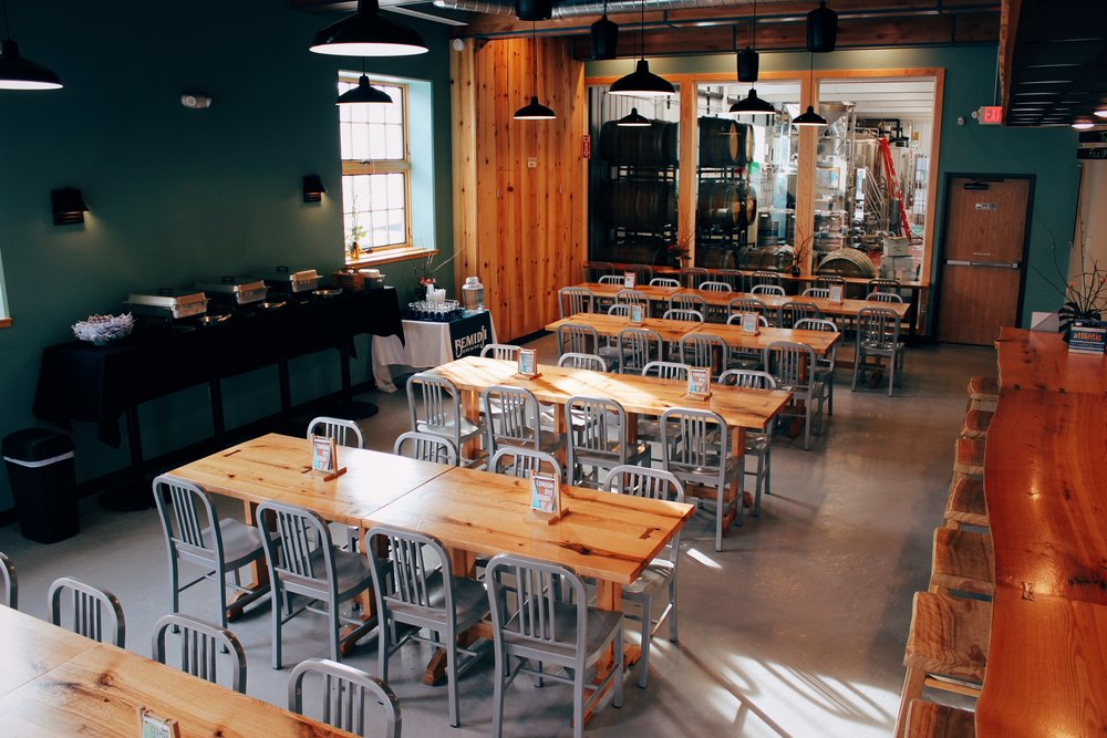 The Taproom can be arranged to fit your rental needs.