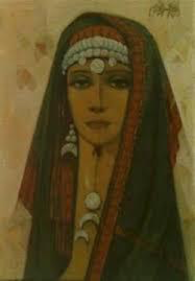 2nd Place - A Bedouin Woman.png