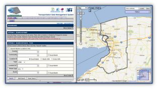 Click on the image above to open the Web-Based Transportation Data Management System (TDMS)