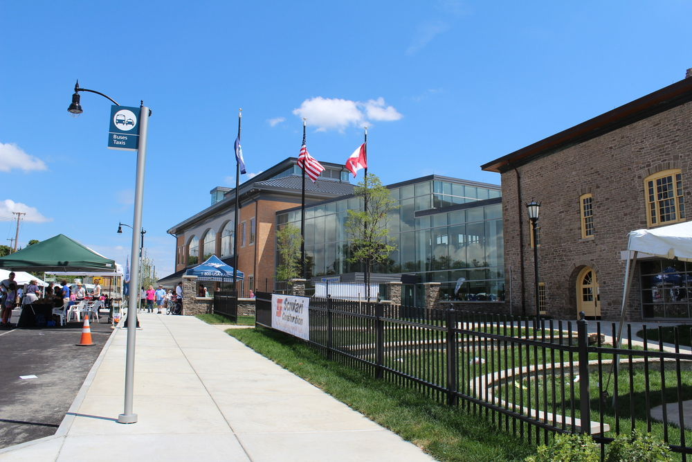 New Niagara Falls NY Amtrak Station