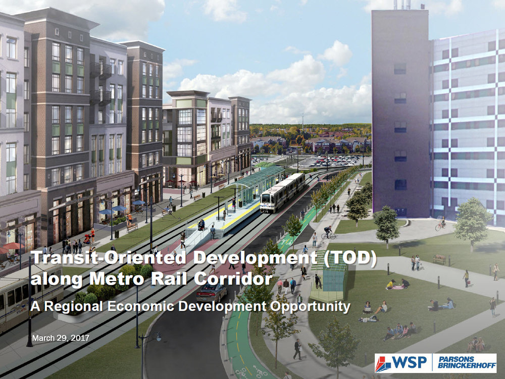 Buffalo TOD Workshop Presentation March 29, 2017