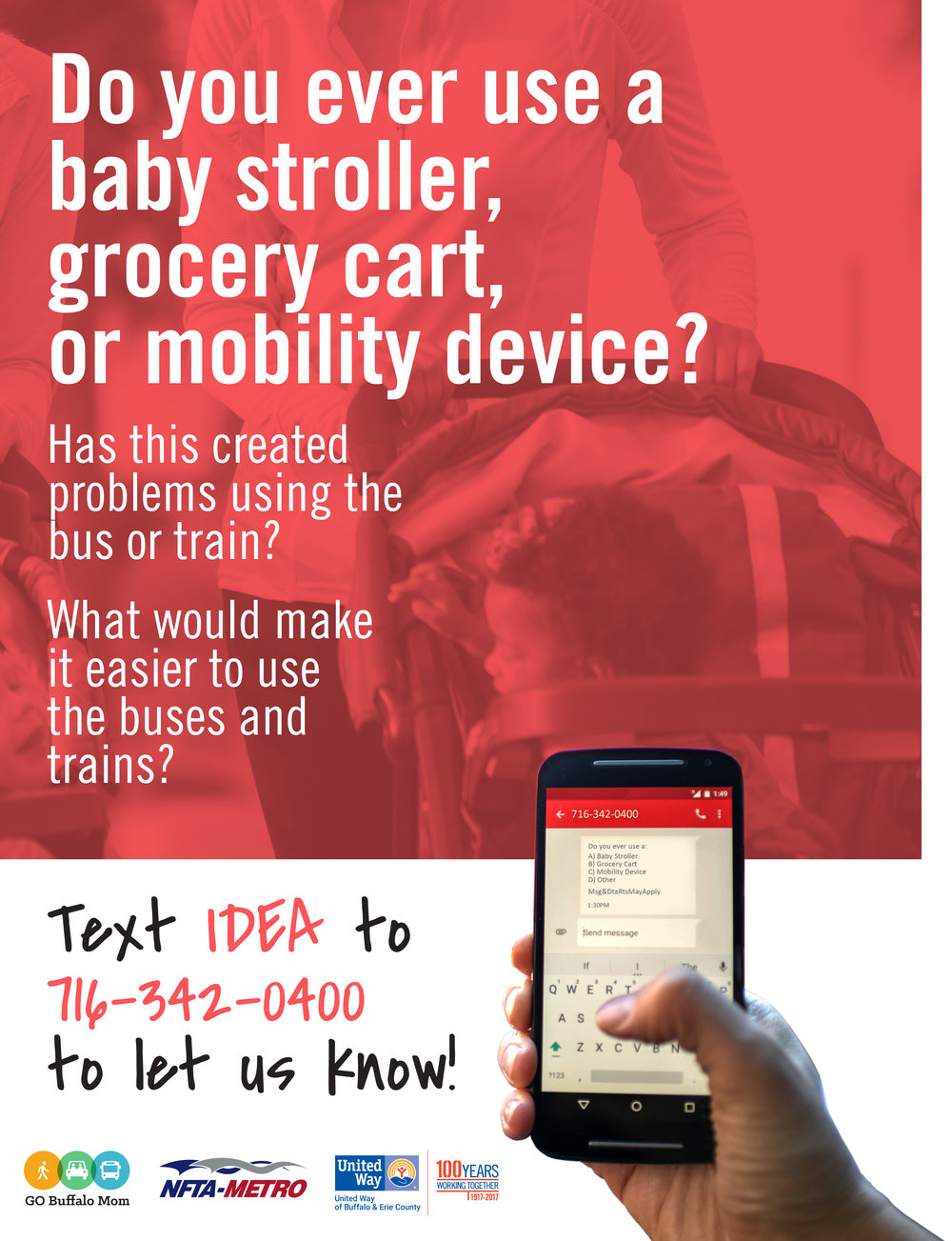 NFTA Stroller and Cart Survey