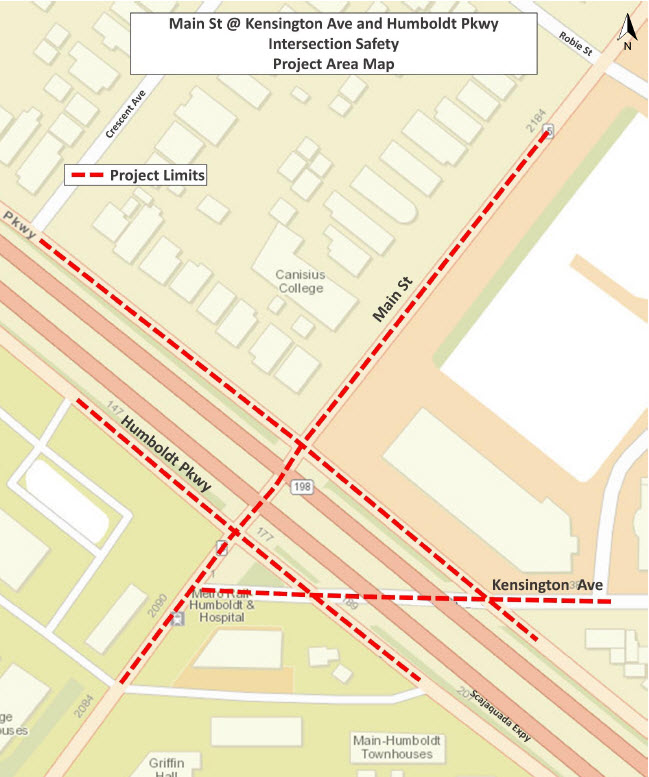 TIP Amendment 25 Project Location Image