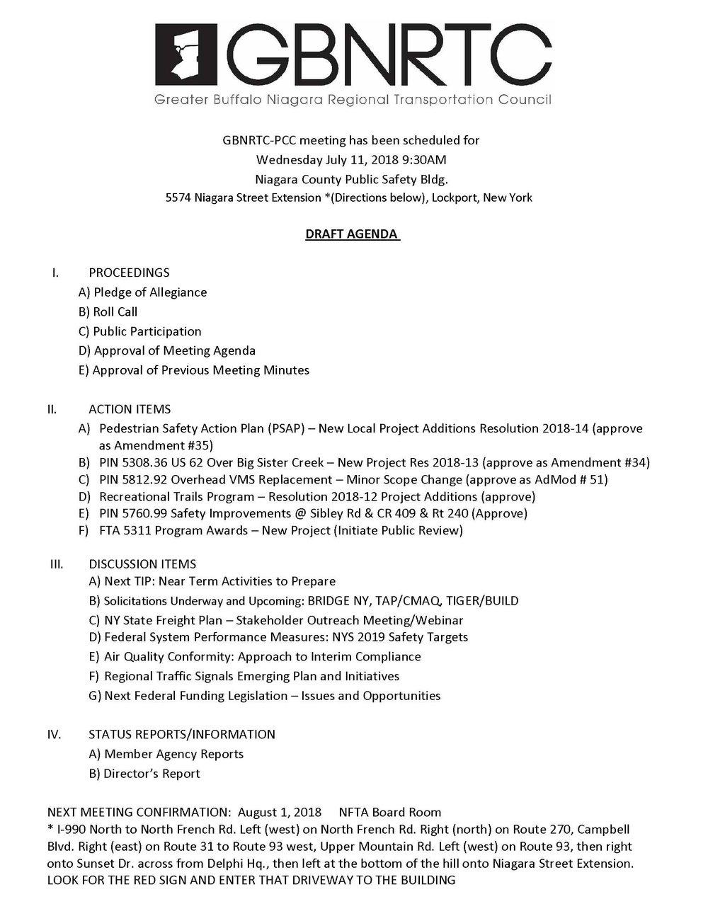 PCC Agenda 7-11-2018