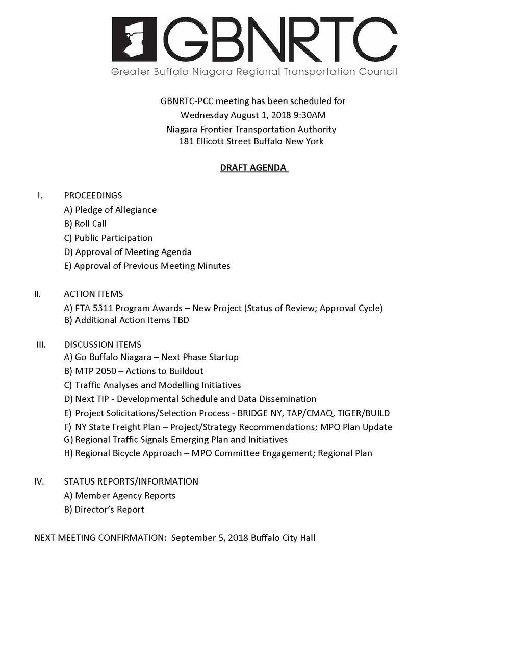 PCC Agenda-8-1-2018