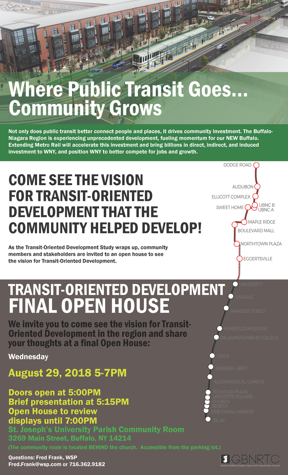 TOD Final Open House August 2018