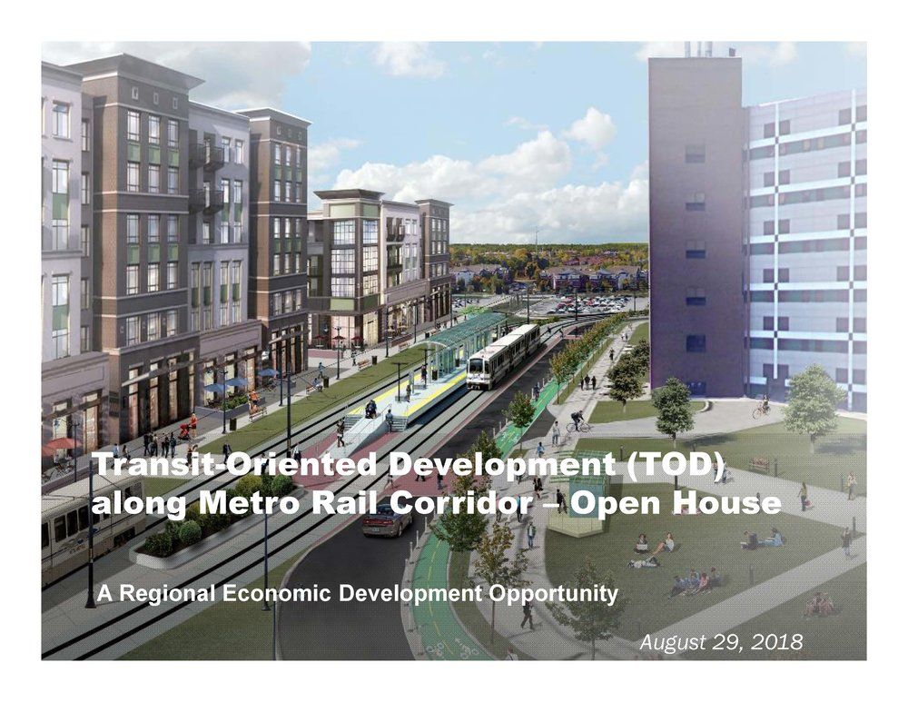 TOD Final Open House Presentation -