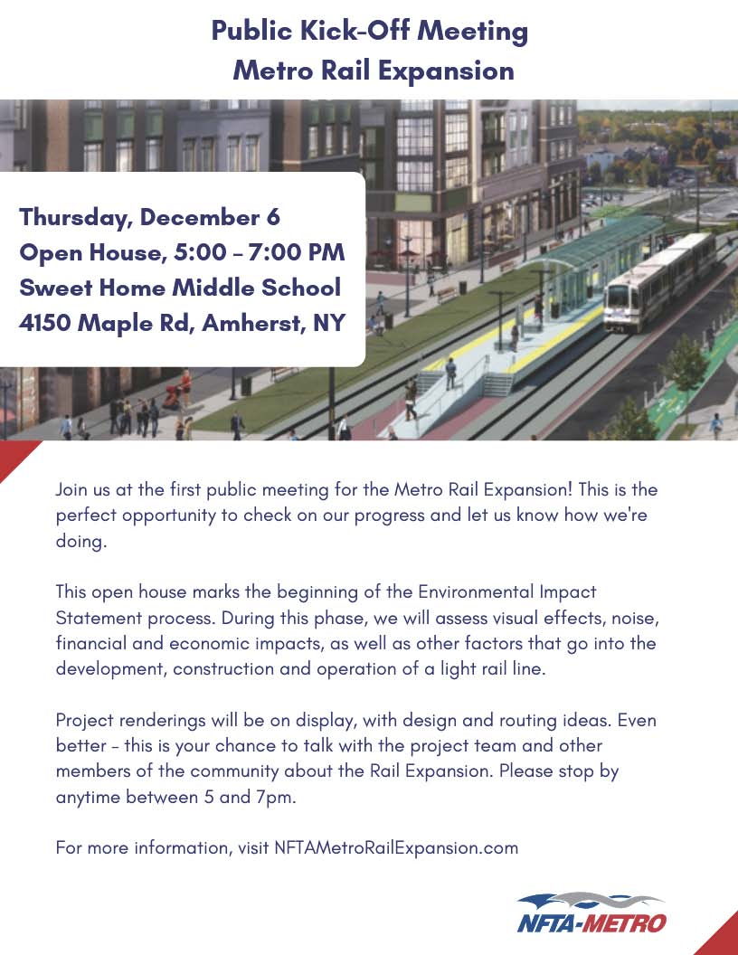 Metro Rail Expansion Project Public Kick-Off Meeting