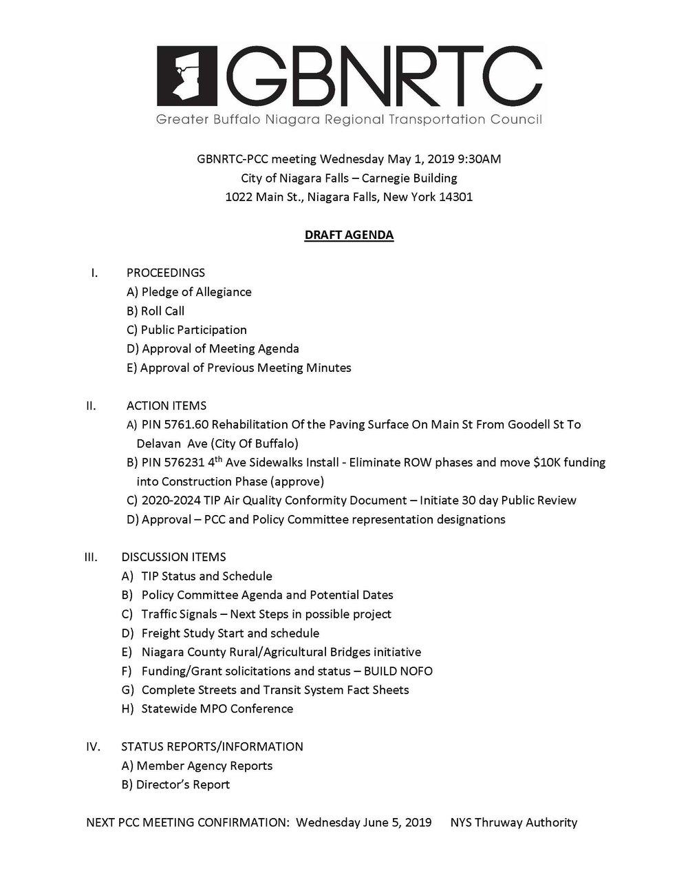 PCC Agenda-5-1-2019