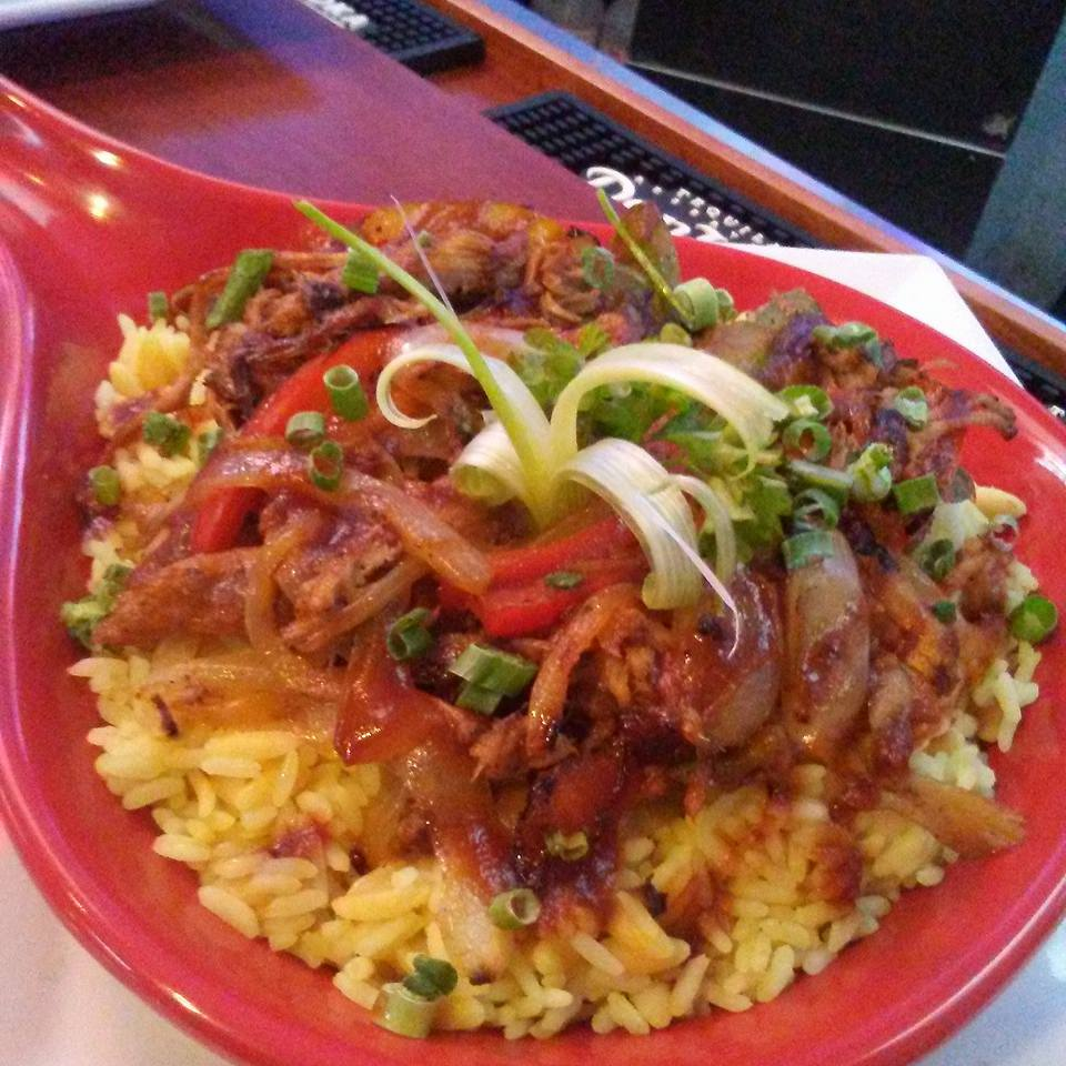 Pulled Pork Rice Bowl