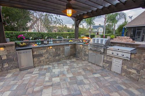 build your own outdoor kitchen backyard bbq pratt guys outdoor kitchen takes all the modern convenience of your indoor kitchen outside more than just grill on cart we can make new outdoor your
