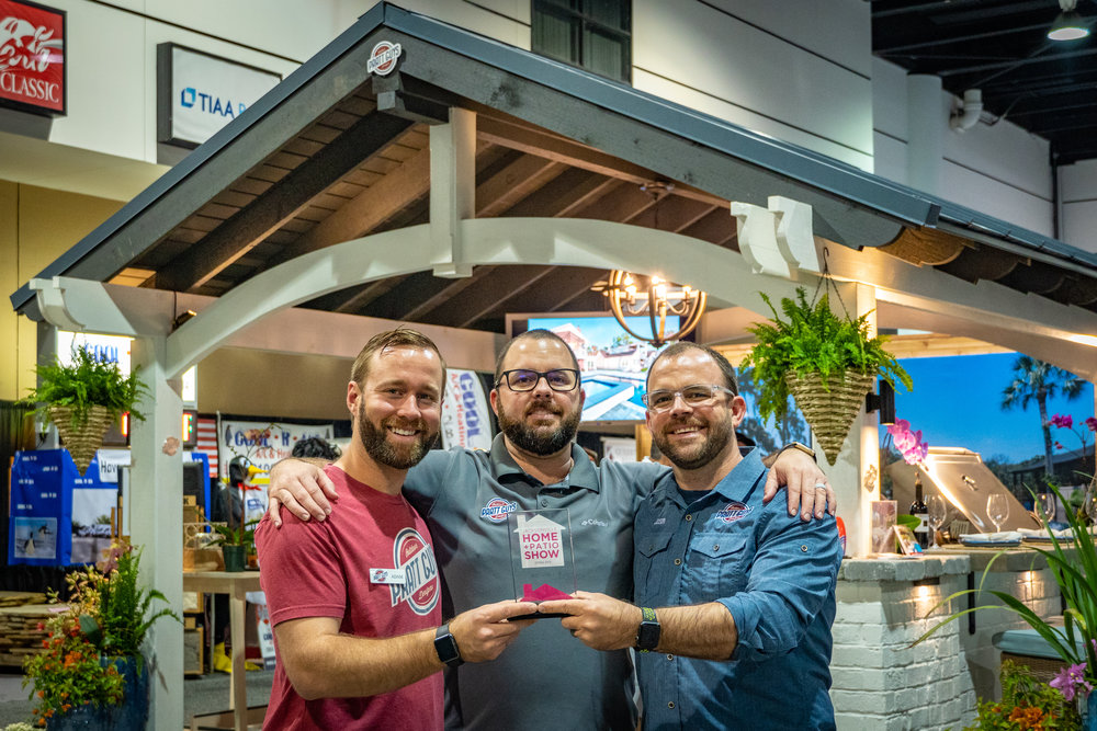 A moment during the 2019 Spring Jacksonville Home + Patio Show aka #HomeAndPrattio Show on 3/2/19 during the 4-day event that took place between February 28 and March 3, 2019. Photo copyright Pratt Guys 2019