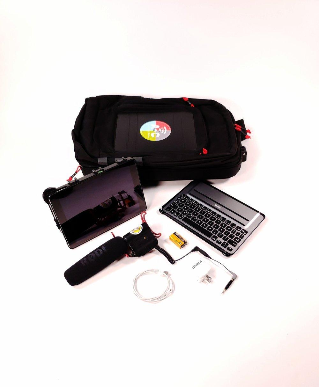 Backpack Media Kit