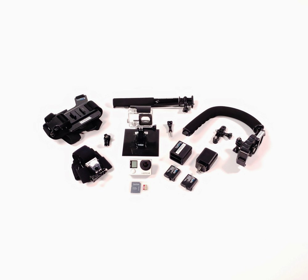 GoPro HERO4 Silver Camera Kit
