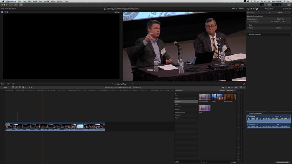Final Cut Pro Screenshot