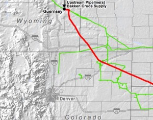 Pony Express Crude Oil Pipeline Segment