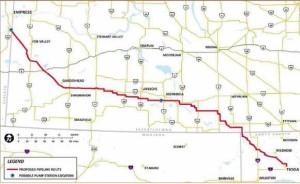 Vantage Ethane Pipeline Map