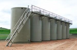 Bakken Oilfield StorageTanks
