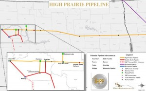 Saddle Butte Pipeline System Map - Bakken Shale