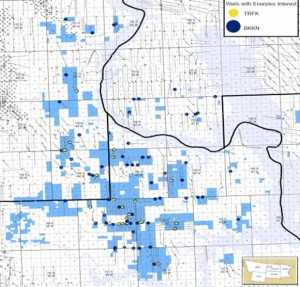 Enerplus Bakken Acreage Map