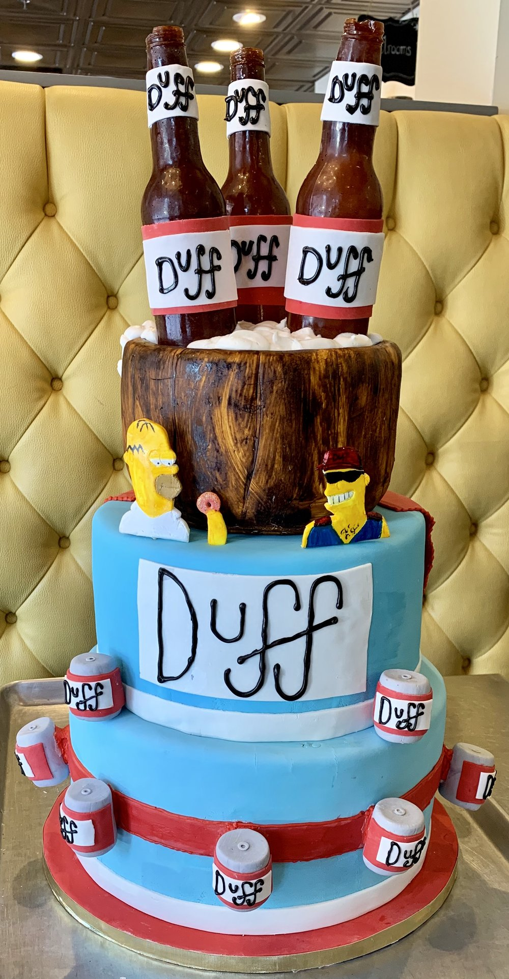Duff Beer Cake