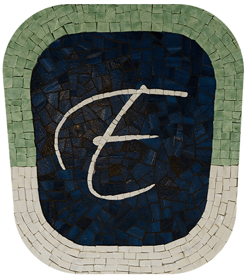 The Beautiful Ellis Dental Mosaic Logo