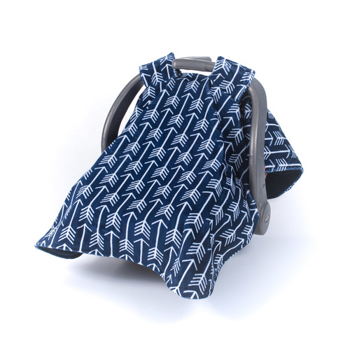 Minky Car Seat Canopy Navy Arrows Flat 6000 Multifunctional Cover 15873098 1336017009790951 6552029179240604830 N