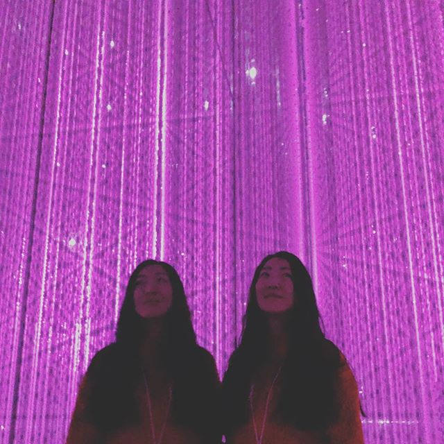 Double trouble Ayako into the weekend 🎹👯‍♀️✨ what're y'all gettin' into?? We'll be grinding tunes for Fat Tuesday (next week!) at the @centralsaloon and trying to remember where the entrance to this wonderland was... 🌈🔮💫