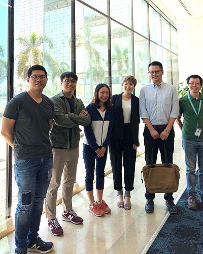 Ming-Hui, Jin-Kai, Wan Yi, and Qiang