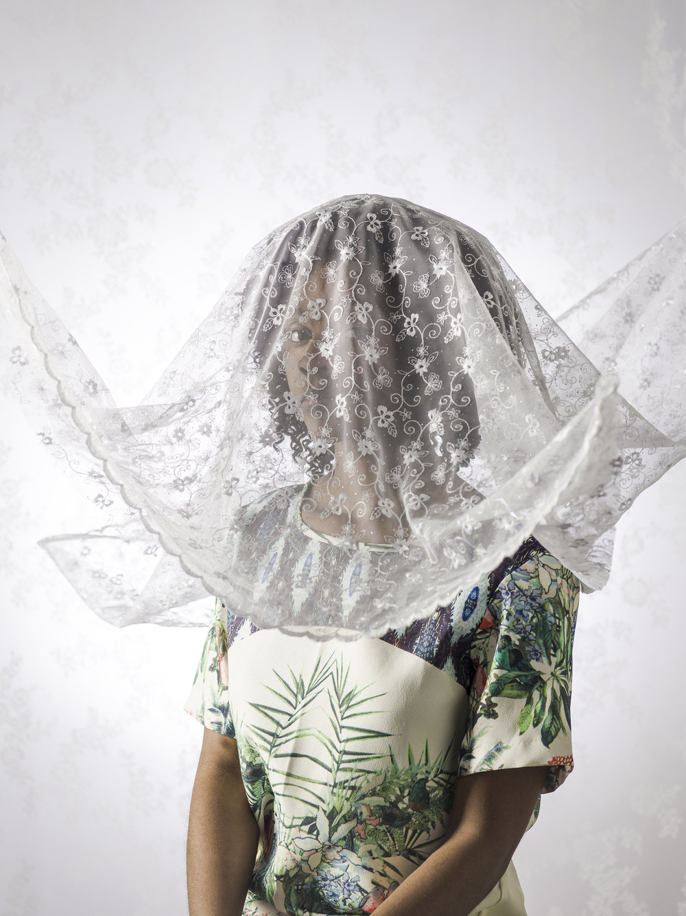 Haitian Women from Miami with Veil, 2015
