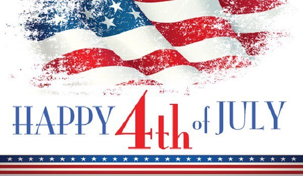 Happy Fourth of July! We wish everyone a fun and safe holiday!