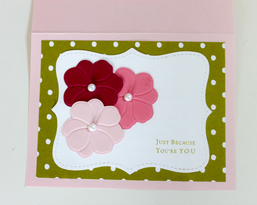 Just a note cards oh so fancy just because greeting card ohsofancyparty m4hsunfo Images