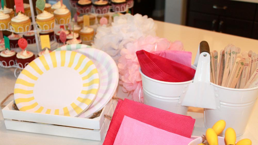 Pastel Tableware - OhSoFancyParty.com