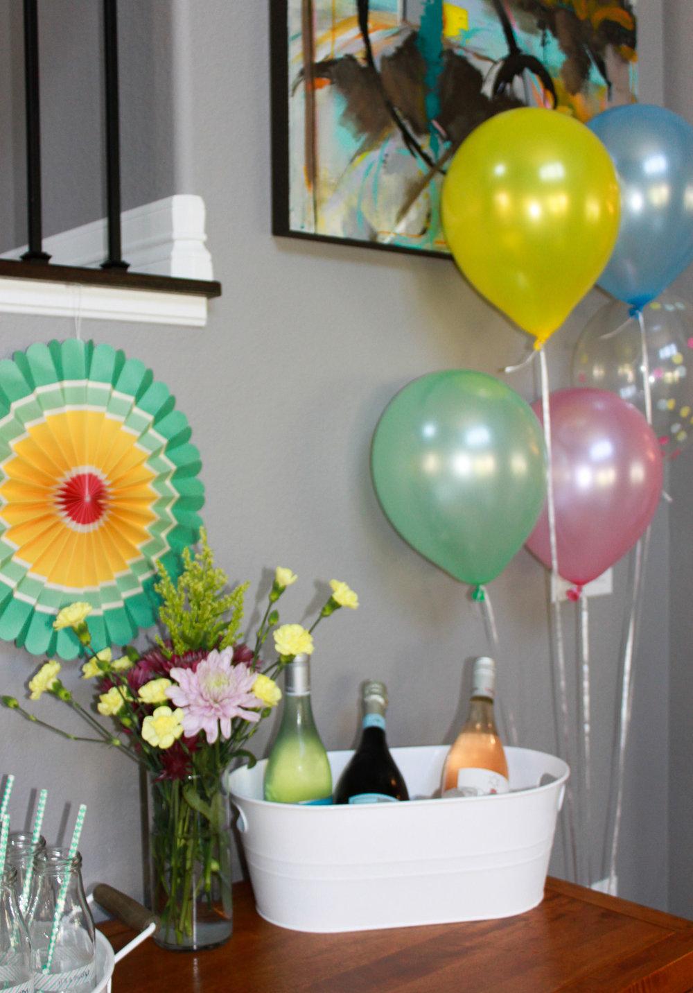 Pastel Balloons - OhSoFancyParty.com