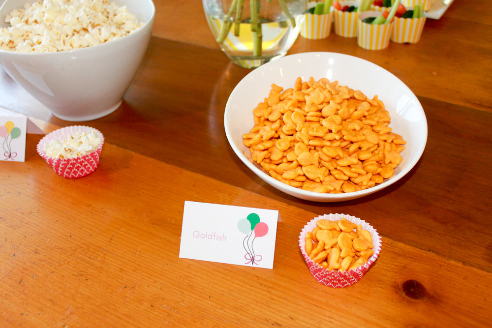 Balloon Food Labels - OhSoFancyParty.com