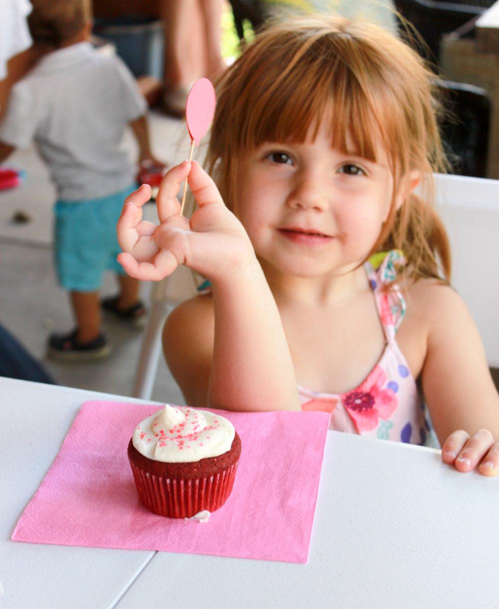 Cupcake Topper - OhSoFancyParty.com