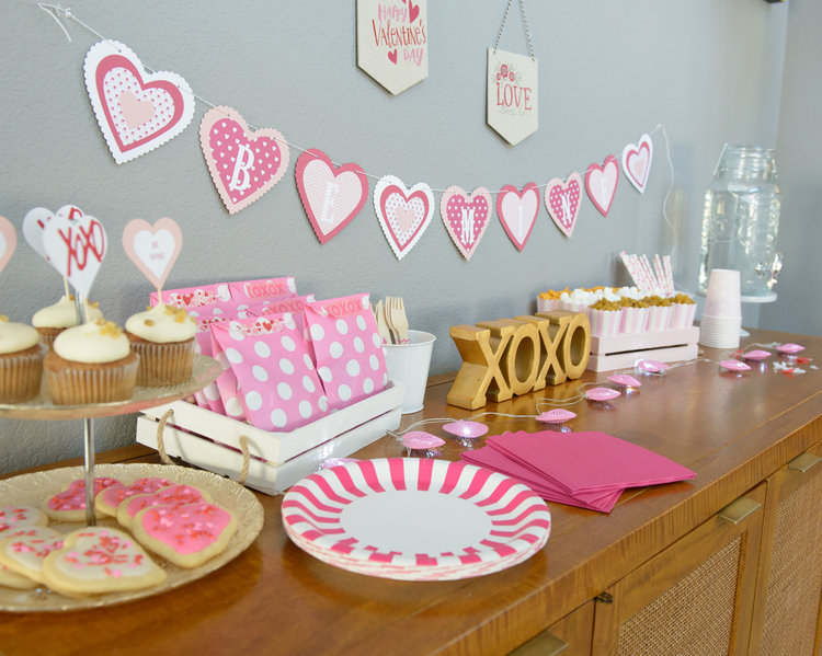 Valentine's Day Party In a Pinch - OhSoFancyParty.com