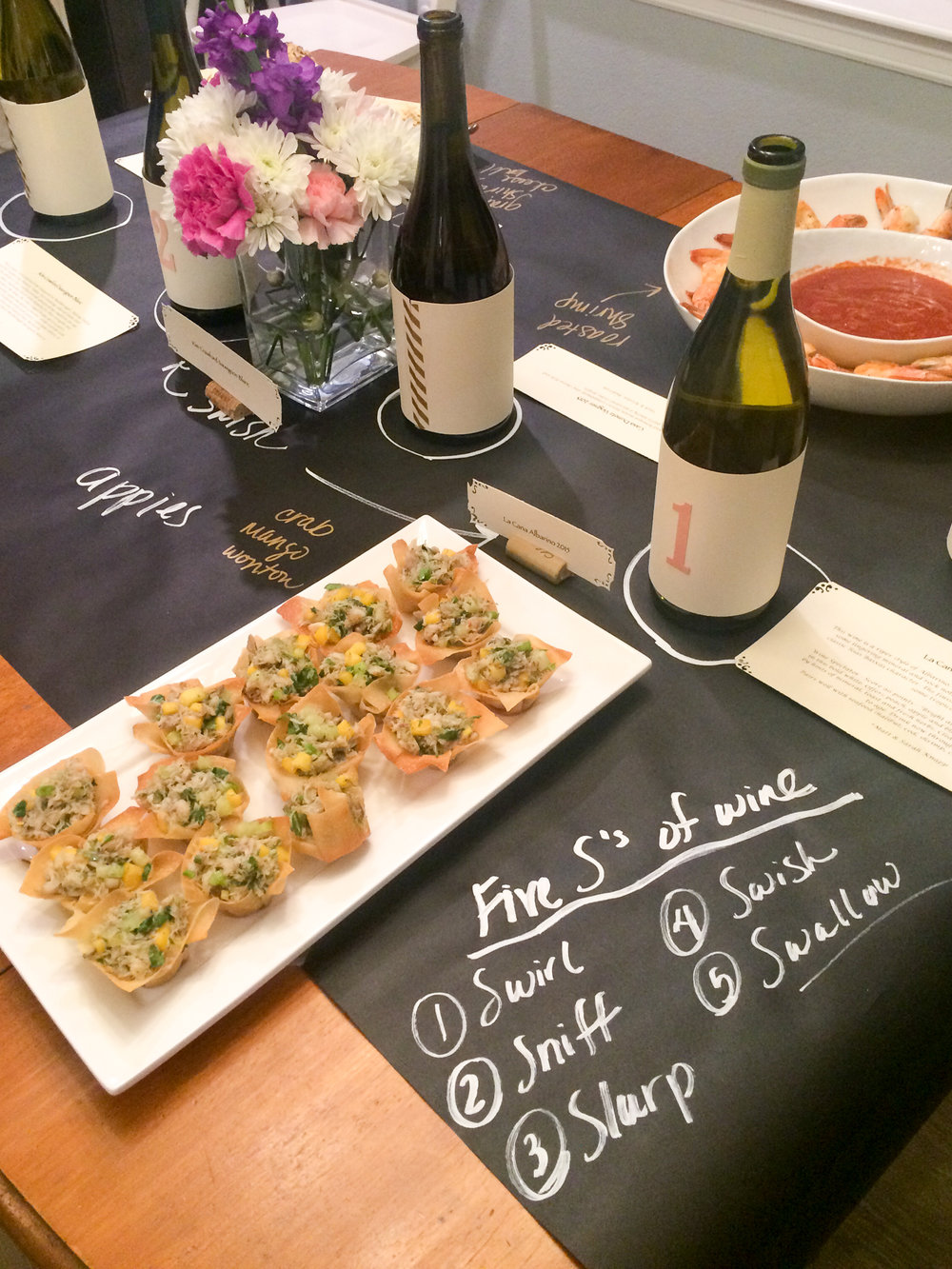 Wine Tasting Decorations - OhSoFancyParty.com