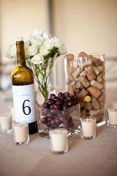Wine Tasting Party Centerpiece Ideas