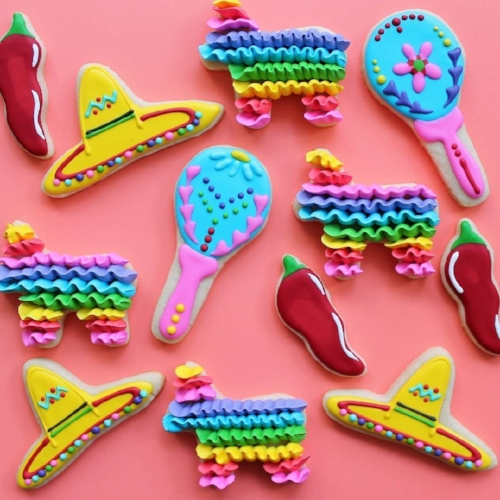 Star Bakes - Cinco de Mayo cookies