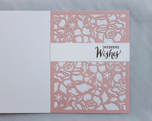 OSF - www.ohsofancyparty.com - Wedding Wishes Card