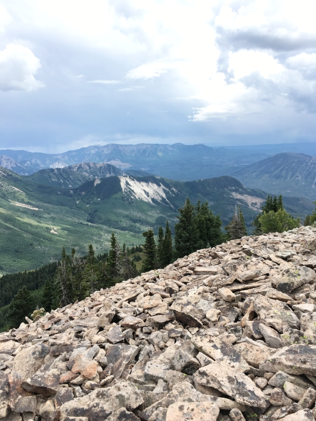 One of the views from the top. You could see a full 360-degree view for miles from the summit.