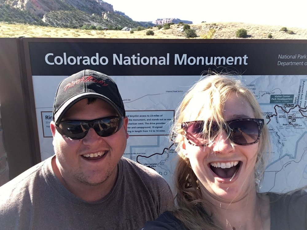 Open mouth excitement...or just panting from the heat. This was the warmest day in CO for us.